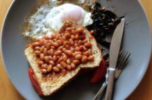ベジタリアン向け英国式朝食