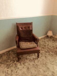 イギリスの家の室内