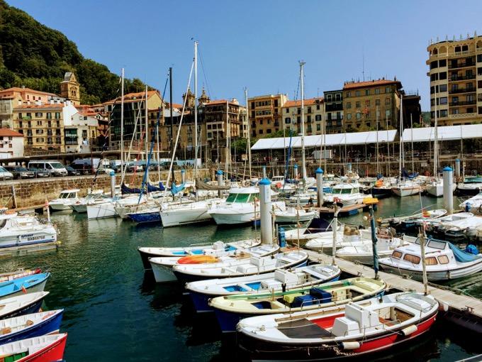 サンセバスチャンの港