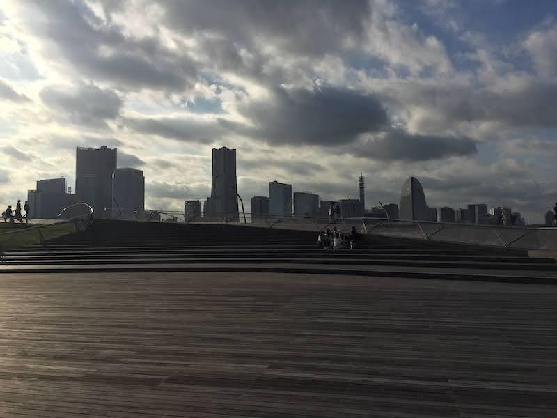 今の横浜港